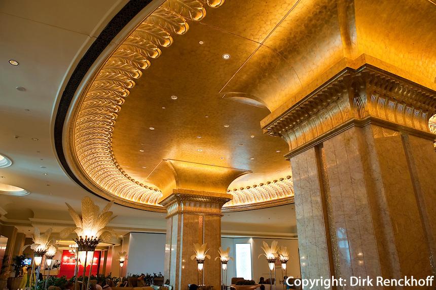 Abu Dhabi, Hotel Emirates Palace, Vereinigte arabische Emirate (VAE, UAE)