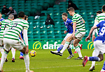 Celtic v St Johnstone…06.12.20   Celtic Park      SPFL<br />David Wotherspoon and Kristoffer Ajer<br />Picture by Graeme Hart.<br />Copyright Perthshire Picture Agency<br />Tel: 01738 623350  Mobile: 07990 594431
