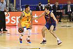 League ACB-ENDESA 2020/2021 - Game: 13.<br /> FC Barcelona Lassa vs Herbalife Gran Canaria: 91-63.<br /> AJ Slaughter vs Leandro Bolmaro.