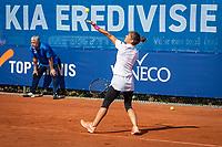 Netherlands, September 12,  2021, Naaldwijk KIA Competition mixed, premier league, LTC Naaldwijk vs TC Leimonias, womans single:  Valentini Grammatikopoulou (GRE)<br /> Photo: Henk Koster/tennisimages.com