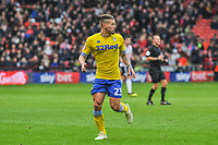 Leeds United's midfielder Kalvin Phillips (23) during the Sky Bet Championship match between Sheff United and Leeds United at Bramall Lane, Sheffield, England on 1 December 2018. Photo by Stephen Buckley / PRiME Media Images.