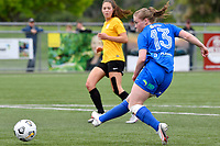 Samantha Murrell of Southern during the Handa Women's Premiership - Capital Football v Southern United at Petone Memorial Park, Wellington on Saturday 7 November 2020.<br /> Copyright photo: Masanori Udagawa /  www.photosport.nz