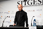 "Chinese director Dante Lam during the press conference of the presentation of the film ""Operation Mekong"" at Festival de Cine Fantastico de Sitges in Barcelona. October 10, Spain. 2016. (ALTERPHOTOS/BorjaB.Hojas)"