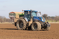 9.3.2021 Applying nitrogen to newly drilled  Spring Barley <br /> ©Tim Scrivener Photographer 07850 303986<br />      ....Covering Agriculture In The UK....