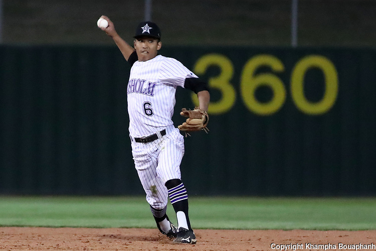 Chisholm Trail loses to Azle 11-2 in 5-6A high school baseball in Fort Worth on Tuesday, March 20, 2018. (photo by Khampha Bouaphanh)