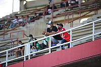 TULUÁ- COLOMBIA, 21-06-2021:Cortuluá y Deportes Quindio, durante partido de la Final ida por el Torneo BetPlay DIMAYOR 2021 jugado en el estadio Doce de Octubre de Tuluá./ Cortulua and Deportes Quindio, during the firts final match of the BetPlay DIMAYOR 2021 Tournament played at the Doce de Octubre stadium in Tuluá. Photo: VizzorImage. / Ricardo Vejarano / Contribuidor