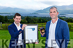 Damien McCarthy and Mike Spllaine Killlarney HR and Payroll company Kilcummin who were honoured at the  Business All Stars Accredited 2020 awards