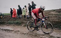 Edvald Boasson Hagen (NOR/TotalEnergies)<br /> <br /> 118th Paris-Roubaix 2021 (1.UWT)<br /> One day race from Compiègne to Roubaix (FRA) (257.7km)<br /> <br /> ©kramon
