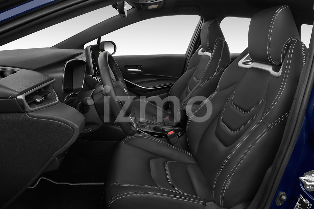 Front seat view of a 2019 Toyota Corolla Touring Sports Premium 5 Door Wagon front seat car photos