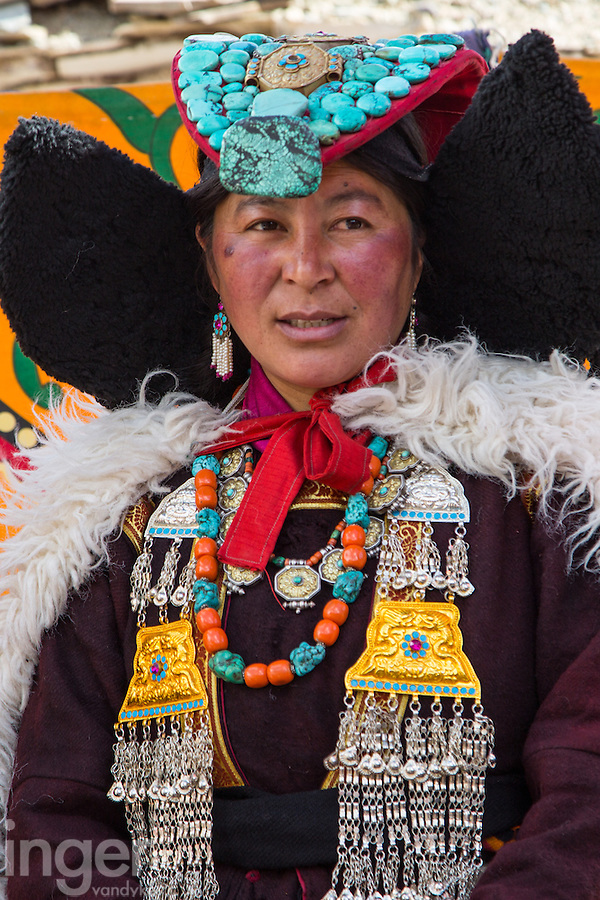 Traditional Dress in Takmachik, Ladakh