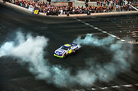12/02/09: NASCAR Sprint Cup Series Champion Jimmie Johnson  during Day 2 of the NASCAR Sprint Cup Series Champions Week on December 3, 2009 in Las Vegas, Nevada.