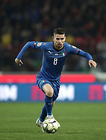 Football: Euro 2020 Group J qualifying football match Italy vs Finland at the Friuli Stadium in Udine on march  23, 2019<br /> Italy's Jorginho in action during the Euro 2020 qualifying football match between Italy and Finland at the Friuli Stadium in Udine, on march 23, 019<br /> UPDATE IMAGES PRESS/Isabella Bonotto