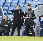 15.05.2021 Rangers v Aberdeen: Stephen Glass and Alan Russell