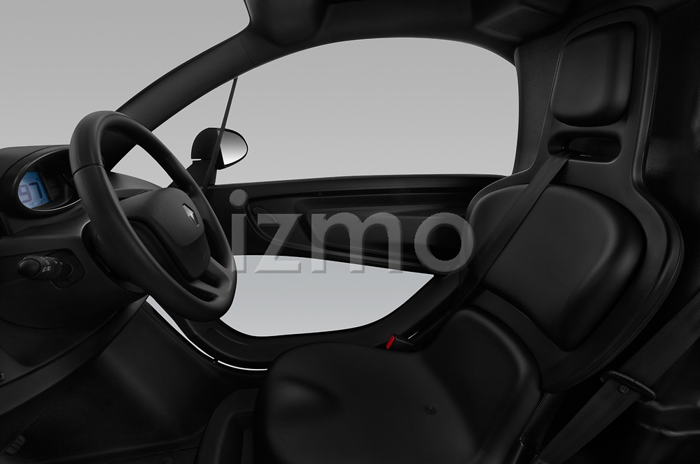 Front seat view of a 2018 Renault Twizy Cargo 3 Door Hatchback front seat car photos
