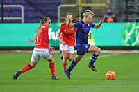 xxx pictured during a female soccer game between RSC Anderlecht Dames and Portugese Benfica Ladies  in the second qualifying round for the Uefa Womens Champions League of the 2020 - 2021 season , Wednesday 18 th of November 2020  in ANDERLECHT , Belgium . PHOTO SPORTPIX.BE | SPP | STIJN AUDOOREN