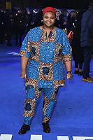 "Joy Gharoro-Akpojotor<br /> arriving for the ""Blue Story"" premiere at the Curzon Mayfair, London.<br /> <br /> ©Ash Knotek  D3534 14/11/2019"