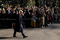 United States President Donald J. Trump departs the White House in Washington, D.C., U.S., on Tuesday, Jan. 12, 2021. The President is heading to Alamo, Texas today to visit the border wall between the United States and Mexico. This is the Presidents first appearance following the insurrection at the U.S. Capitol by his followers last week. <br /> CAP/MPI/RS<br /> ©RS/MPI/Capital Pictures