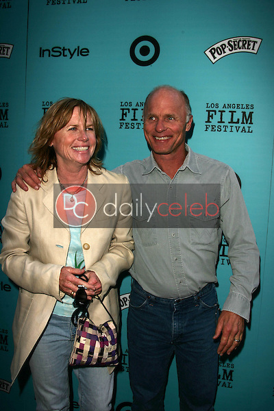 """Amy Madigan and Ed Harris<br /> at the premiere of """"Nine Lives,"""" Academy of Motion Picture Arts and Sciences, Beverly Hills, CA 06-21-05<br /> David Edwards/DailyCeleb.Com 818-249-4998"""