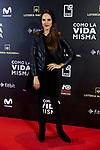 Laia Alemany attends to 'Como la Vida Misma' film premiere during the 'Madrid Premiere Week' at Callao City Lights cinema in Madrid, Spain. November 12, 2018. (ALTERPHOTOS/A. Perez Meca)