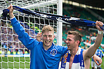 St Johnstone v Dundee United....17.05.14   William Hill Scottish Cup Final<br /> David Wotherspoon and Chris Millar celebrate at full time<br /> Picture by Graeme Hart.<br /> Copyright Perthshire Picture Agency<br /> Tel: 01738 623350  Mobile: 07990 594431
