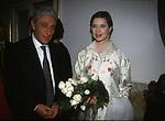 ANTONIO BASSOLINO CON ISABELLA ROSSELLINI<br /> PREMIERE OEDIPUS REX AL TEATRO SAN CARLO DI NAPOLI 2001