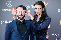 "Melina Matthews and Dafnis Balduz attends to red carpet before the projection of film 'The Shape of Water"" during Sitges Film Festival in Barcelona, Spain October 05, 2017. (ALTERPHOTOS/Borja B.Hojas) /NortePhoto.com /NortePhoto.com"