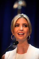 NEW YORK, NY - JUNE 16: Ivanka Trump makes presidential announcement at Trump Tower on June 16, 2015 in New York City.<br /> <br /> <br /> People:  Ivanka Trump