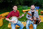 Sean Kelliher and Conor Moriarty who are currently organising the Kingdom Trad Orchestra