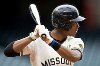 Missouri TIger Blake Brown against the Houston Cougars on Friday March 5th, 2100 at the Astros College Classic in Houston's Minute Maid Park.  (Photo by Andrew Woolley / Four Seam Images)