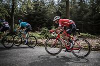 Julien Bernard (FRA/Trek Segafredo)<br /> <br /> 104th Liège - Bastogne - Liège 2018 (1.UWT)<br /> 1 Day Race: Liège - Ans (258km)