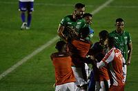 Campinas (SP), 18/08/2020 - Guarani - Paraná - Bruno Savio comemora gol do Guarani. Partida entre Guarani e Paraná pelo Campeonato Brasileiro 2020 da série B, nesta terça-feira (18), no Estádio Brinco de Ouro, em Campinas (SP).