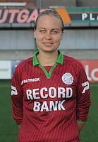 Dames SV Zulte Waregem :<br /> Eva Van Daele<br /> foto VDB / BART VANDENBROUCKE