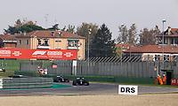 1st November 2020, Imola, Italy; FIA Formula 1 Grand Prix Emilia Romagna, Race Day;  44 Lewis Hamilton GBR, Mercedes-AMG Petronas Formula One Team leads 77 Valtteri Bottas FIN, Mercedes-AMG Petronas Formula One Team