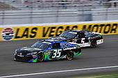 #35: Joey Gase, Motorsports Business Management, Toyota Supra Nevada Donor Network and #5: Matt Mills, B.J. McLeod Motorsports, Chevrolet Camaro J.F. Electric