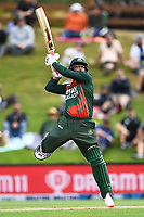 20th March 2021; Dunedin, New Zealand;  Tamim Iqbal bats during the New Zealand Black Caps v Bangladesh International one day cricket match. University Oval, Dunedin.