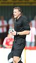Referee Darren Sheldrake<br />  Stevenage v Oldham Athletic - Sky Bet League 1 - Lamex Stadium, Stevenage - 3rd August, 2013<br />  © Kevin Coleman 2013