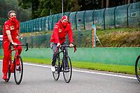 27th August 2020, Spa Francorhamps, Belgium, F1  Grand Prix of Belgium, 5 Sebastian Vettel GER, Scuderia Ferrari Mission Winnow