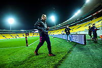 North coach John Plumtree walks back to the changing rooms during the rugby match between North and South at Sky Stadium in Wellington, New Zealand on Saturday, 5 September 2020. Photo: Dave Lintott / lintottphoto.co.nz