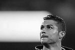 Cristiano Ronaldo of Real Madrid in training prior to the UEFA Champions League 2017-18 match between Real Madrid and APOEL FC at Estadio Santiago Bernabeu on 13 September 2017 in Madrid, Spain. Photo by Diego Gonzalez / Power Sport Images