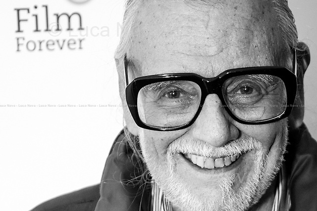 George A. Romero, American Film Director.