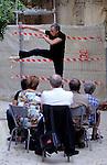 """Uzes Danse Festival 2010<br /> Confidences / Marc Vincent, ARTEFACTDANSE<br /> <br /> Confidence 4 : présente seul """"ICI, ailleurs que là""""<br /> Le 12/06/2010<br /> Uzes<br /> © Laurent Paillier / photosdedanse.com<br /> All rights reserved"""