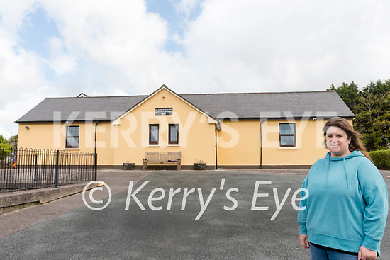 Wk17 Glounaguillagh N.S.<br /> <br /> Glounaguillagh National School, Caragh Lake principal Sinéad Pigott pictured in front of the school