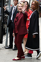 NEW YORK, NY- October 01: Hillary Clinton at Good Morning America in New York City promoting her new book on October 01, 2019. Credit: RW/MediaPunch