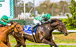 "OCT10, 2020 : Civil Union with Joel Rosario aboard, wins the ""Win & You're In""   Grade 1 Flower Bowl Stakes, for fillies & mares, on the inner turf, at Belmont Park, Elmont, NY.  Sue Kawczynski/Eclipse Sportswire/CSM"