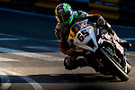 Michael Sweeney races the Macau Motorcycle Grand Prix during the 61st Macau Grand Prix on November 15, 2014 at Macau street circuit in Macau, China. Photo by Aitor Alcalde / Power Sport Images