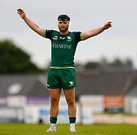 4th June 2021; Galway Sportsgrounds, Galway, Connacht, Ireland; Rainbow Cup Rugby, Connacht versus Ospreys; Connacht center Tom Daly