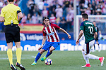Filipe Luis of Atletico de Madrid in action during the La Liga match between Atletico de Madrid vs Osasuna at the Estadio Vicente Calderon on 15 April 2017 in Madrid, Spain. Photo by Diego Gonzalez Souto / Power Sport Images