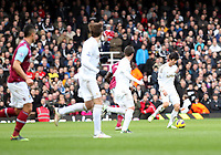 Barclays Premier League, West Ham United (red)V Swansea City Fc (white), Boelyn Ground, 02/02/13<br /> Pictured: Swans Korean midfielder Ki Sung Yeung<br /> Picture by: Ben Wyeth / Athena Picture Agency<br /> info@athena-pictures.com