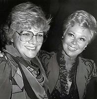 Rosemary Clooney Mitzi Gaynor 1978 Photo By John Barrett/PHOTOlink