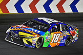 Monster Energy NASCAR Cup Series<br /> Monster Energy NASCAR All-Star Race<br /> Charlotte Motor Speedway, Concord, NC USA<br /> Saturday 20 May 2017<br /> Kyle Busch, Joe Gibbs Racing, M&M's Caramel Toyota Camry celebrates his win<br /> World Copyright: Nigel Kinrade<br /> LAT Images<br /> ref: Digital Image 17CLT1nk06418